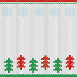 Nordic christmas background. Nordic merry christmas handcraft background card Vector Illustration
