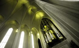 Nordic church Stock Photography