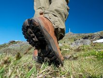 Nordic Hiking Stock Images