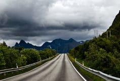 Nordic journey Stock Photo