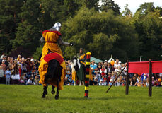 Nordic Knights Tournament Royalty Free Stock Images