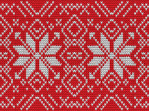 Nordic knitted perfect seamless pattern. EPS 10 vector Royalty Free Stock Photography