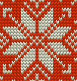 Nordic knitted perfect seamless pattern. EPS 10 vector Royalty Free Stock Image