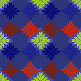 Nordic knitted seamless pattern Royalty Free Stock Image