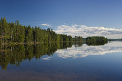Nordic lake Stock Images