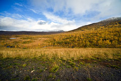 Nordic landscape Royalty Free Stock Photography