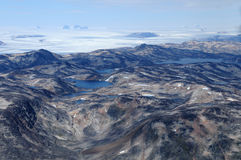 Nordic landscape. Nordic ladscape, raw beauty of Greenland Stock Images