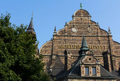 Nordic museum in Stockholm Stock Image