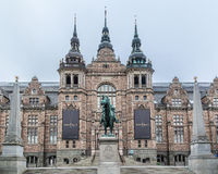 Nordic Museum Stockholm stock images