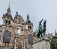 Nordic Museum Stockholm Stock Photo