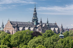 Nordic Museum Stockholm Royalty Free Stock Photo