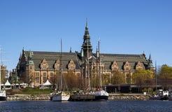 Nordic Museum, Stockholm Stock Photos