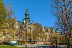 Nordic Museum, Stockholm Royalty Free Stock Photos