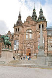 The Nordic Museum in Stockholm, Sweden Royalty Free Stock Photo