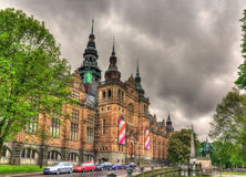 Nordic Museum in Stockholm - Sweden Royalty Free Stock Photography