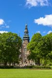 Nordic museum view in the city of stockholm. Beautiful nordic museum view in the city of stockholm Royalty Free Stock Photos
