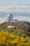 Nordic optical telescope, Roque de los Muchachos Observatory in Stock Photo
