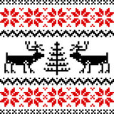 Nordic pattern Royalty Free Stock Images