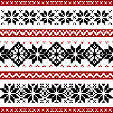 Nordic pattern royalty free illustration