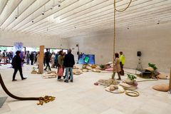 Nordic Pavilion at the 58th International Art exhibition of Venice biennale royalty free stock photography