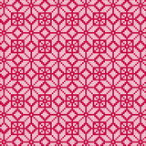 Nordic red white seamless pattern Royalty Free Stock Images