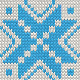 Nordic Seamless Knitting Pattern. EPS 10 vector Stock Photos