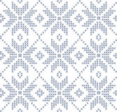 Nordic seamless pattern Royalty Free Stock Photo