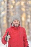 Nordic skiing Royalty Free Stock Photo