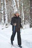 Nordic skiing Royalty Free Stock Photos