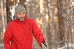 Nordic skiing Royalty Free Stock Image