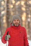 Nordic skiing Royalty Free Stock Photography