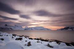 Nordic Sunset Stock Image