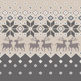 Nordic tradition pattern Royalty Free Stock Photography