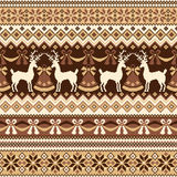 Nordic tradition pattern Stock Photography
