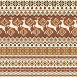 Nordic tradition pattern Royalty Free Stock Photos