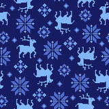Nordic tradition pattern Stock Photo