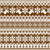 Nordic tradition pattern Royalty Free Stock Image