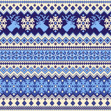 Nordic tradition pattern Stock Image