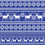 Nordic tradition pattern Stock Photos