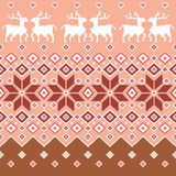 Nordic tradition pattern Stock Images