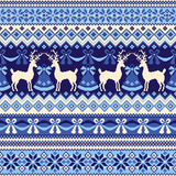 Nordic tradition pattern Royalty Free Stock Photo