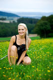 Nordic walking Stock Photos