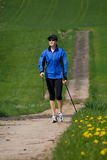 Nordic walking 2 Stock Photography