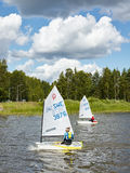Nordic Youth Sailing Championship 2015 Royalty Free Stock Images