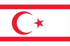 nordico nazionale della bandierina della Cipro Fotografie Stock