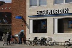 NORDIK BANK Royalty Free Stock Image