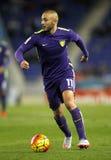 Nordin Amrabat of Malaga CF Royalty Free Stock Image