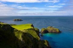 Nordirland-Küste stockbilder