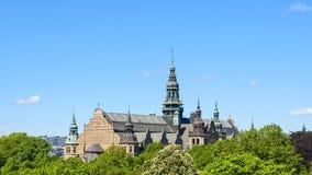 Nordisches Museum in der Stadt von Stockholm lizenzfreie stockbilder