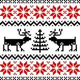 Nordisches Muster Lizenzfreie Stockbilder